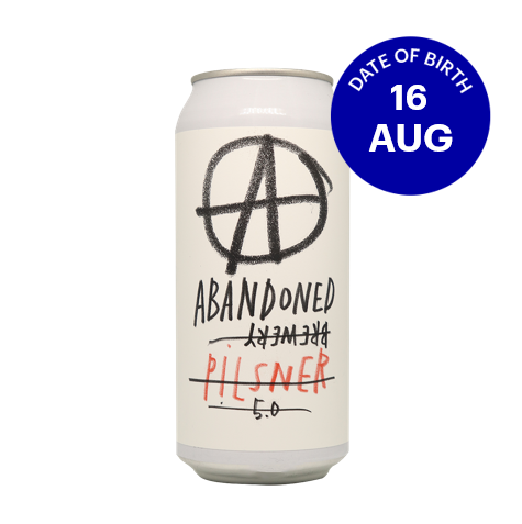 [08|16] Abandoned Brewery Pilsner 5.0% 4x440ml Cans
