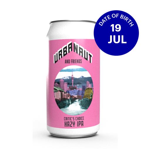 [07|19] Urbanaut Critic's Choice Hazy IPA 6.5% 4x440ml can
