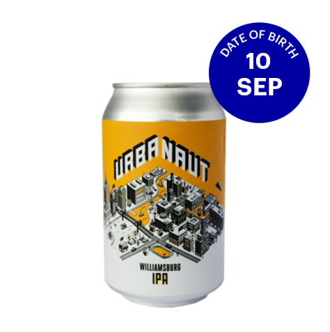 [09|10] Urbanaut Williamsburg IPA 7.2% 6x330ml cans