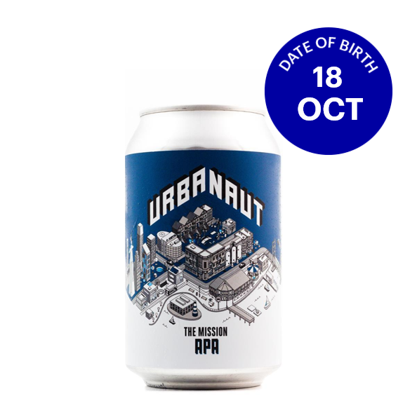 [10|18] Urbanaut The Mission APA 5.9% 6x330ml Cans