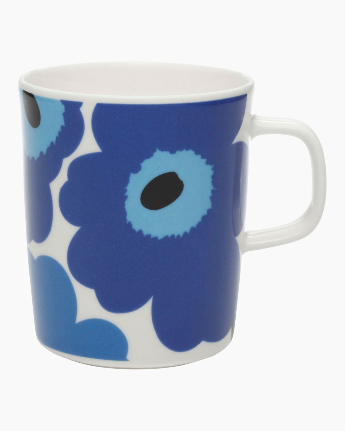 Marimekko 2.5dL Mug, Dark Blue & Light Blue