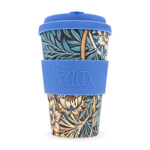 Ecoffee Cup, William Morris Lily, 14oz.