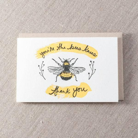 You're the Bees Knees Thank You Card