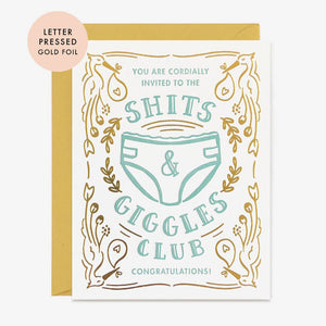 Paper Pony Co. Shits & Giggles Club Card