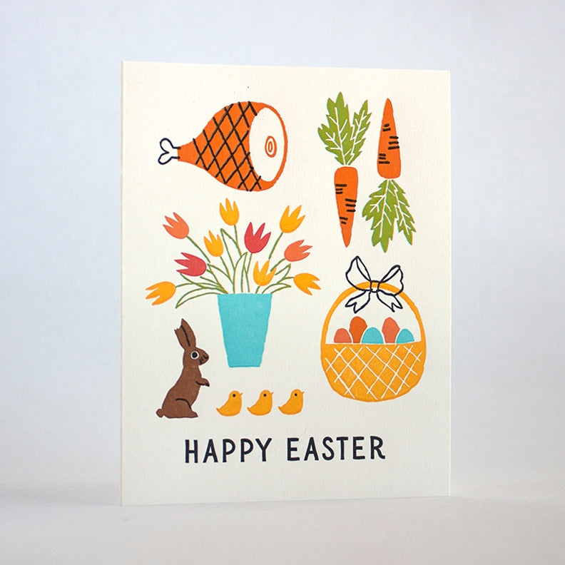 Easter Things Happy Easter Card