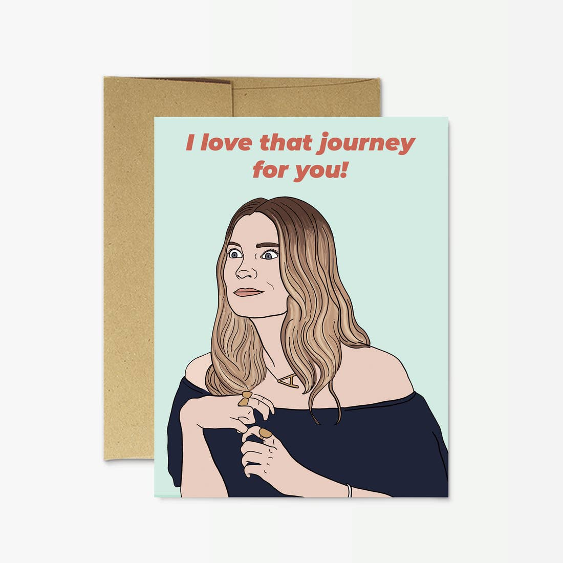 Party Mountain Alexis I Love That Journey For You! Card