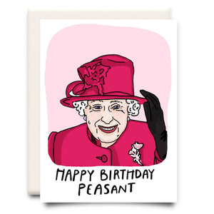 Happy Birthday Peasant Card