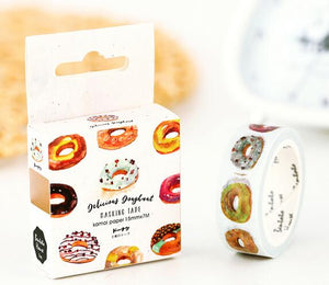 15mm Washi Tape, Doughnut