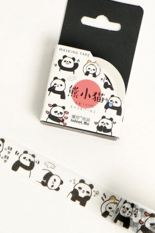 15mm Washi Tape, Panda