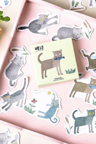 Cat Stickers, Boxed