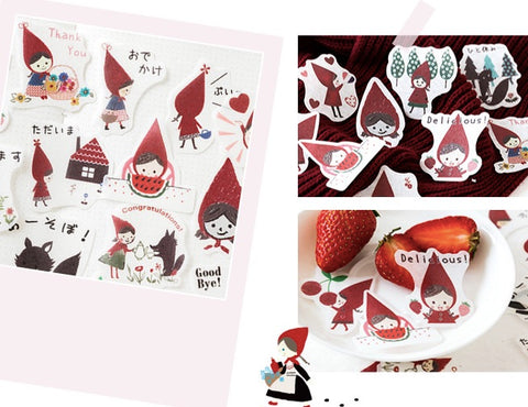 Deco Stickers, Little Red Riding Hood