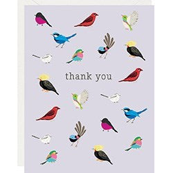 Birds Thank You Cards & Envelopes, Package of 10