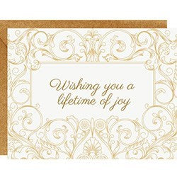Wishing You A Lifetime of Joy Card