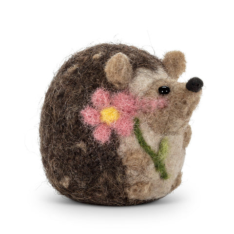 Felt Hedgehog Ornament