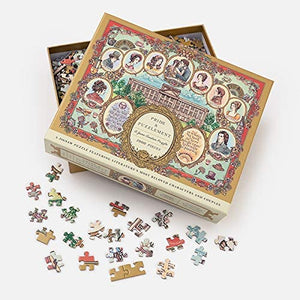 Pride & Puzzlement: A Jane Austen Puzzle, 1000 Pieces