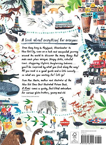 Everything & Everywhere: A Fact-Filled Adventure For Curious Globetrotters