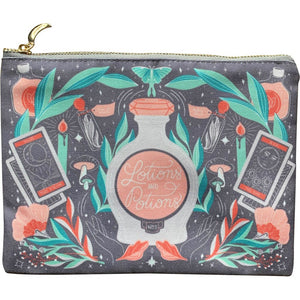 Lotions & Potions Zippered Pouch