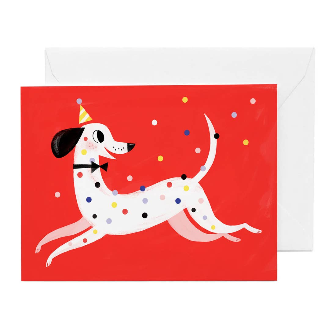 Hip Hip Dalmatian Celebration Birthday Card