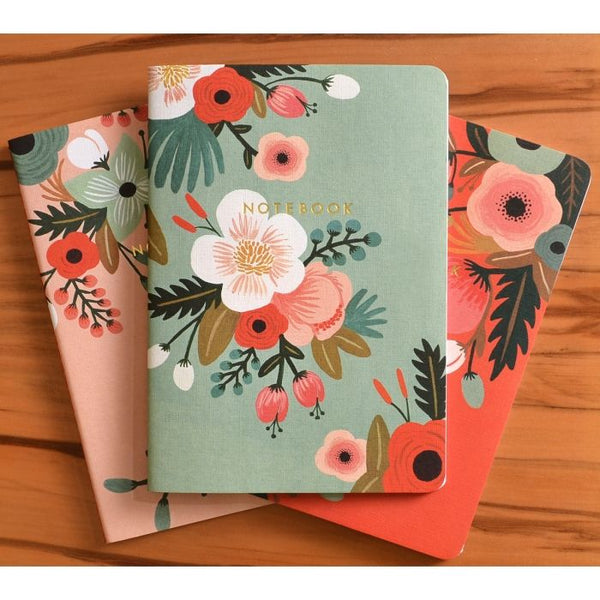Rifle Paper Co. Botanicals Notebook Set