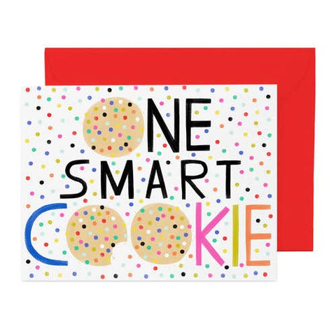 Hip Hip One Smart Cookie Card
