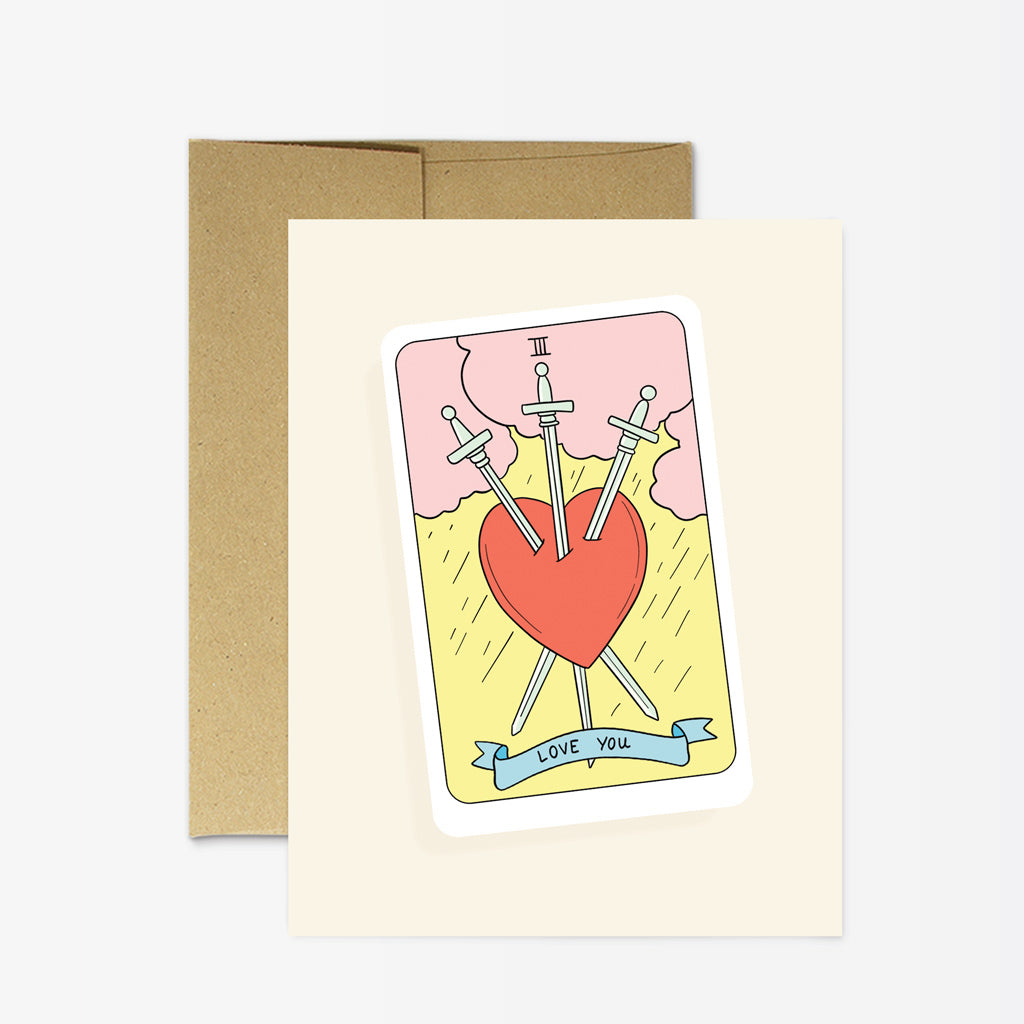 Party Mountain Tarot Love You Card