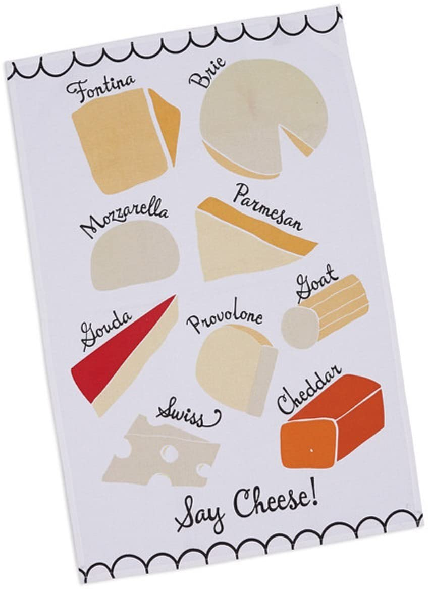 Say Cheese Tea Towel