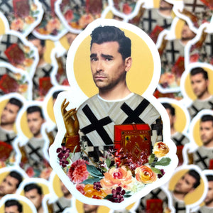 David Rose Prayer Sticker