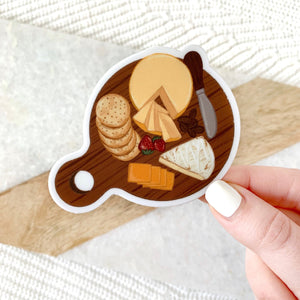 Cheese Board Sticker