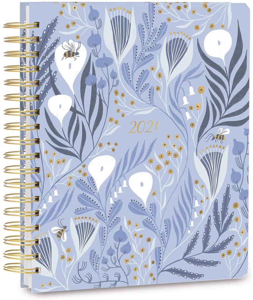 High Note 2021 Garden Bees, 17 Month Agenda