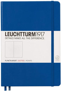 Leuchtturm 1917 Hardcover, Medium Dotted Notebook, Royal Blue