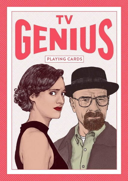 TV Genius Playing Cards