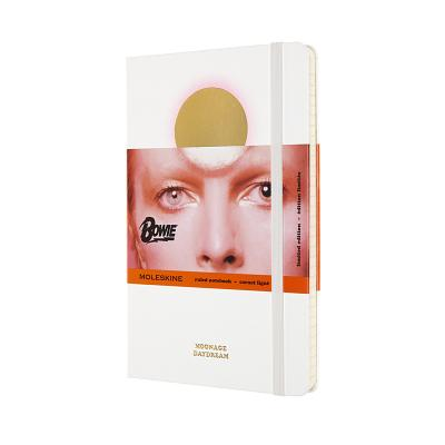 Moleskine Ruled Notebook, David Bowie, Ziggy Stardust