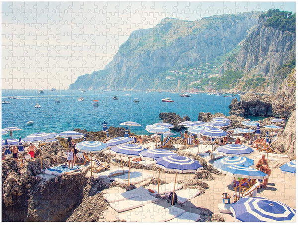 Gray Malin Italy Double-Sided, 500 Piece Puzzle