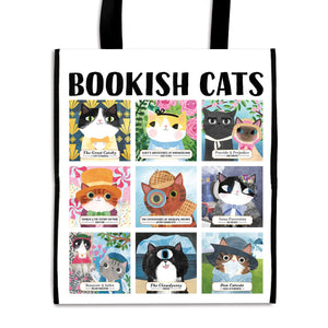 Bookish Cats Reusable Tote