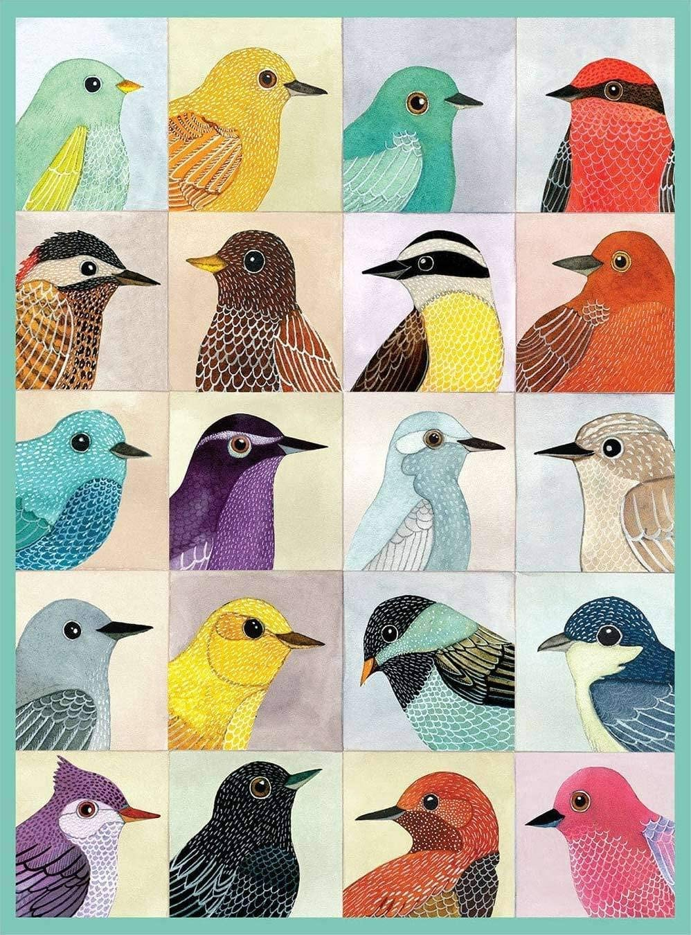 Avian Friends, 1000 Piece Puzzle