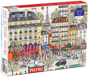 Michael Storrings' Paris Cityscape, 1000 Piece Puzzle