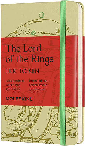 Moleskine Ruled Notebook: The Lord of the Rings, Shire