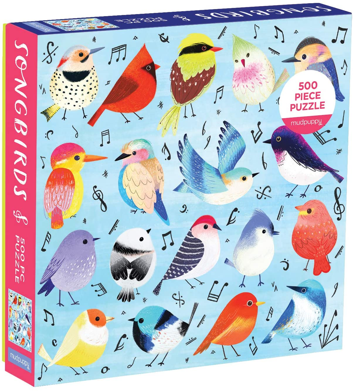 Songbirds 500 Piece Puzzle
