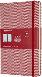 Moleskine Dotted Notebook, Blend Collection, Burgundy