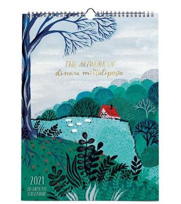The Artwork of Dinara Mirtalipova, 2021 Calendar