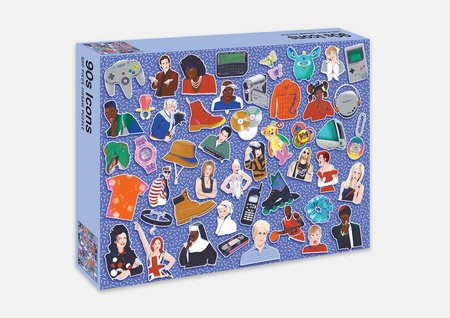 90s icons 500 Piece Puzzle
