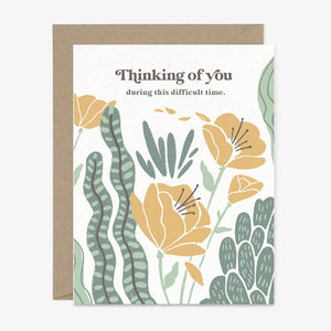 Paper Pony Co. Thinking of You Card