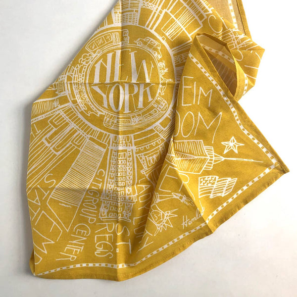 Hemlock Goods, New York Bandana