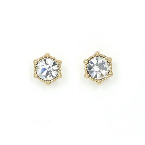 Lover's Tempo Astrid Earrings, White Opal