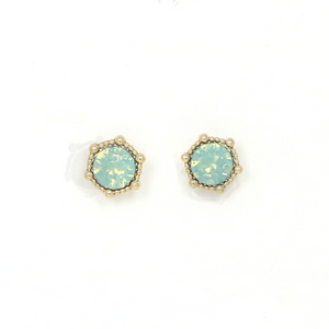 Lover's Tempo Astrid Earrings, Mint