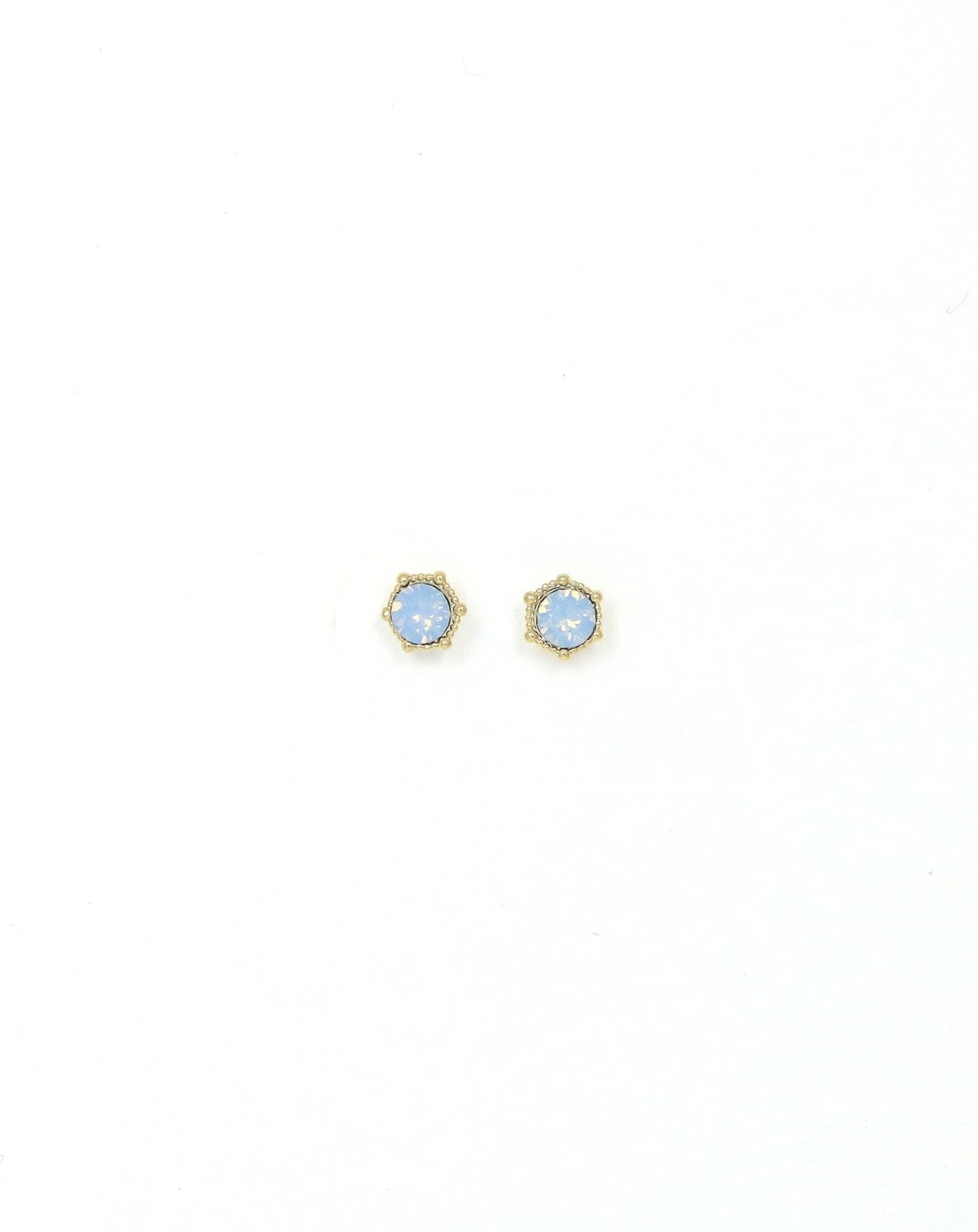 Lover's Tempo Astrid Earrings, Blue Opal