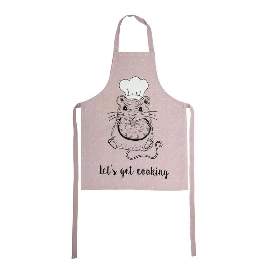 Bloomingville Child's Apron with Mouse