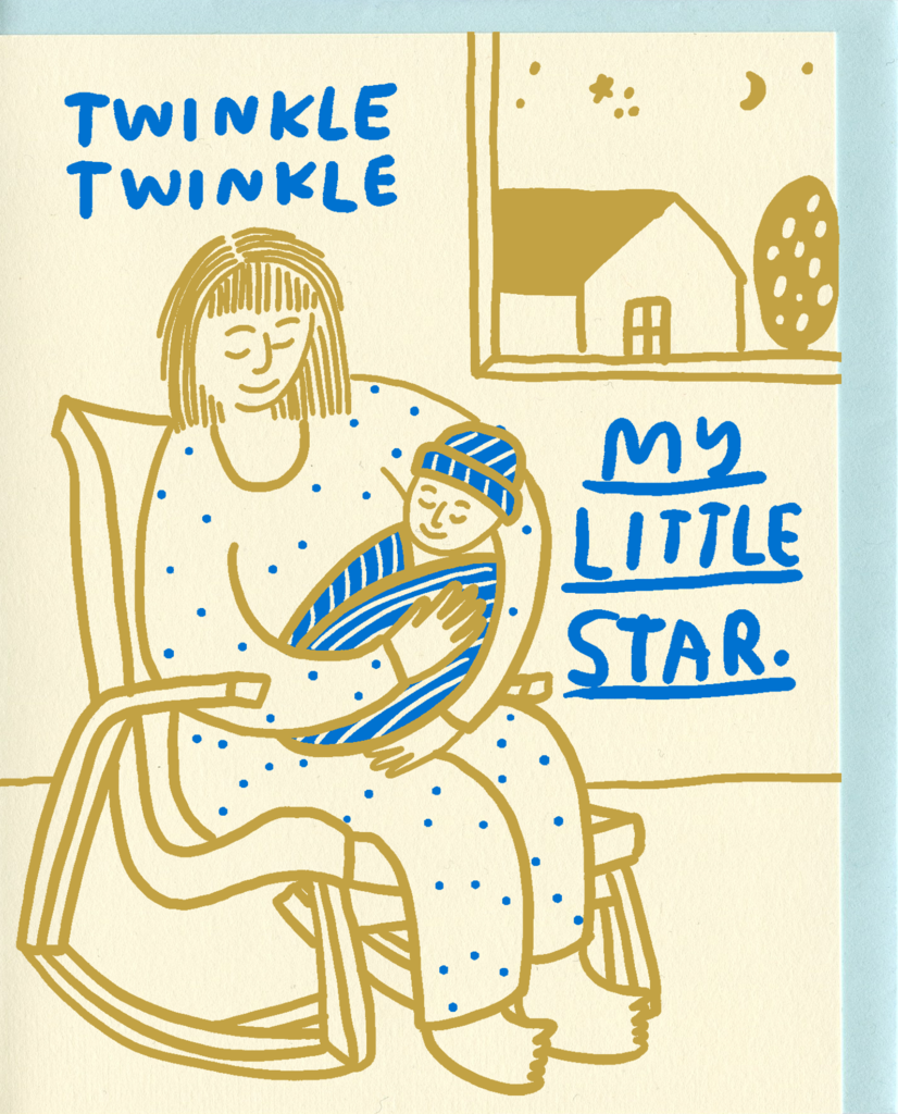 People I've Loved Twinkle Twinkle My Little Star Card