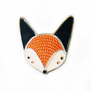 Gingiber Fox Enamel Pin