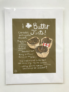 Wendy Tancock Butter Tarts Card